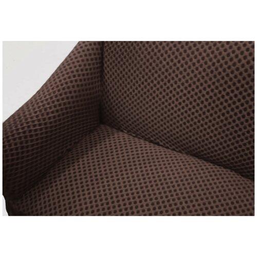 Чехлы Престиж фактура соты на Диван+2 Кресла, шоколад