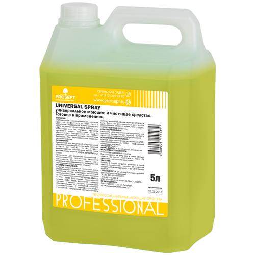 Фото - PROSEPT Средство для уборки Universal spray, 5 л антисептический грунт для древесины prosept eco universal 5 л