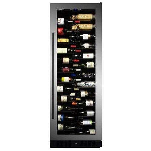 Встраиваемый винный шкаф Dunavox DX-143.468SS встраиваемый винный шкаф dunavox dx 166 428dbk