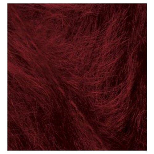 Купить Пряжа для вязания Ализе Mohair classic (25% мохер, 24% шерсть, 51% акрил) 5х100г/200м цв.057 бордовый, Alize
