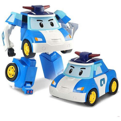 Купить Трансформер Silverlit Robocar Poli 7.5 см белый/синий, Роботы и трансформеры