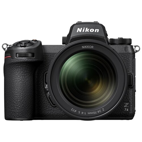 Фото - Фотоаппарат Nikon Z7II Kit черный Nikkor Z 24-70mm f/4S+adapter FTZ фотоаппарат nikon z5 kit 24 50 f 4 6 3 c адаптером ftz