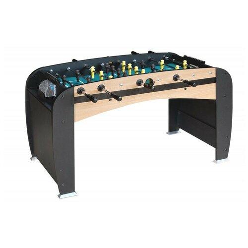 Игровой стол для футбола Weekend Rialto черный/бежевый игровой стол для футбола weekend stuttgart венге
