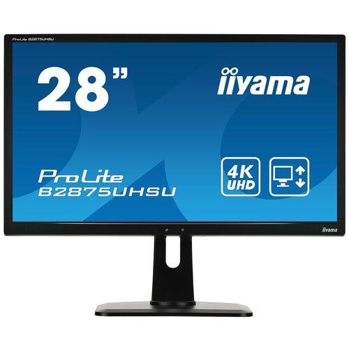 монитор iiyama b2875uhsu b1 Монитор Iiyama ProLite B2875UHSU-B1 28, черный