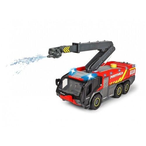 Пожарная машина р/у Dickie Toys аэродромная, 62 см, свет, звук машина dickie ру пожарная 62 см