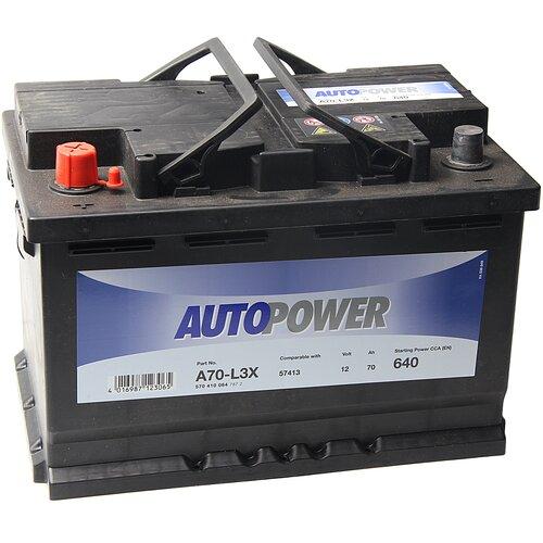 Автомобильный аккумулятор Autopower A70-L3X