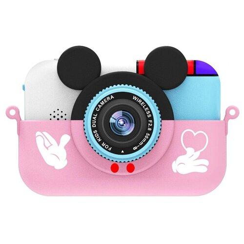 Фото - Фотоаппарат Children's Fun Camera Микки с Wi-Fi розовый фотоаппарат children s fun camera микки с wi fi красный