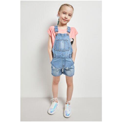 Купить Джинсовый комбинезон для девочек размер 116, голубой, ТМ Acoola, арт. 20220410041, Джинсы