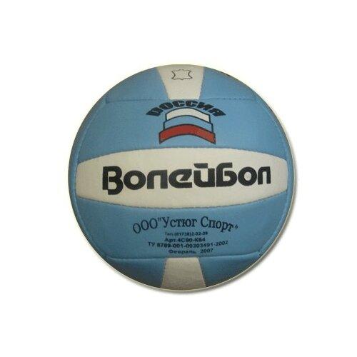 Мяч волейбольный 'Великий Устюг' кожаный :4С90-К64