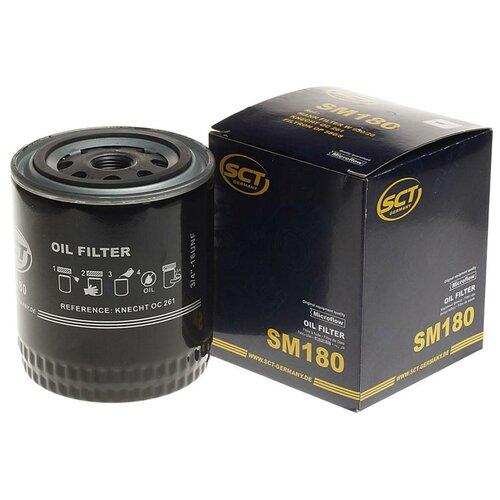 Масляный фильтр SCT SM 180 масляный фильтр sct sm 133
