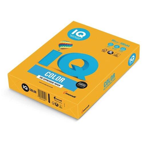 Фото - Бумага IQ Color A4 80 г/м² 500 лист., старое золото AG10 бумага iq premium a4 80 г м² 500 лист