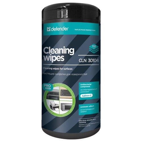 Фото - Defender CLN 30104 Pro влажные салфетки 110 шт. салфетки чистящие defender eco cln 30300