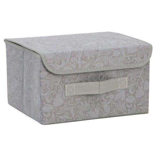доляна короб для хранения с крышкой 30 х 28 х 15 см фабьен Доляна Короб для хранения с крышкой 26 х 20 х 16 см нея