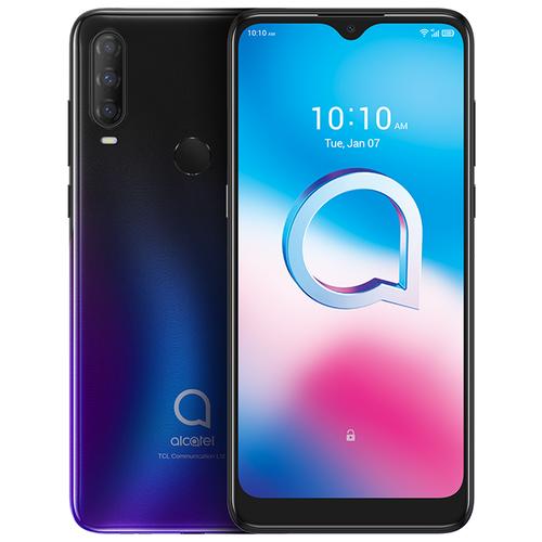 Смартфон Alcatel 3L 5029Y (2020) черно-фиолетовый