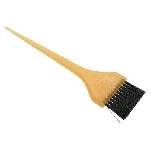 Кисточка для покраски широкая желтая Sibel 8450211 недорого
