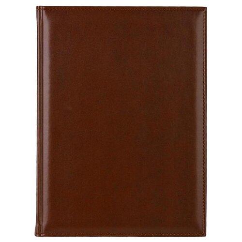 Купить Ежедневник Attache Каньон недатированный, искусственная кожа, А4, 72 листов, коричневый, Ежедневники