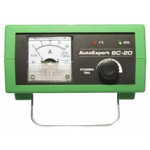 Фото - Зарядное устройство AutoExpert BC-20 зеленый зарядное устройство autoexpert bc 65