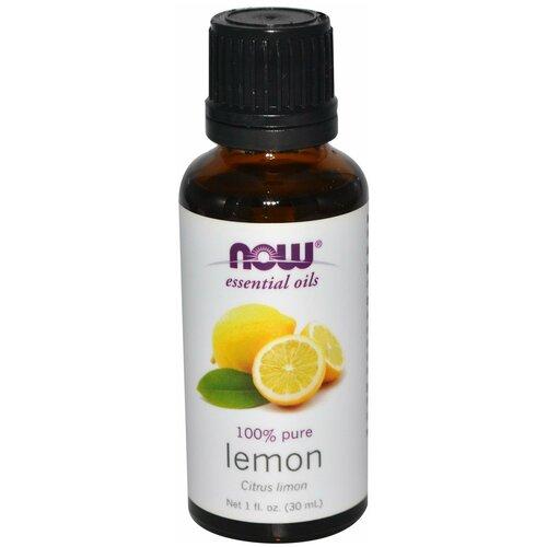 NOW эфирное масло Лимон, 30 мл