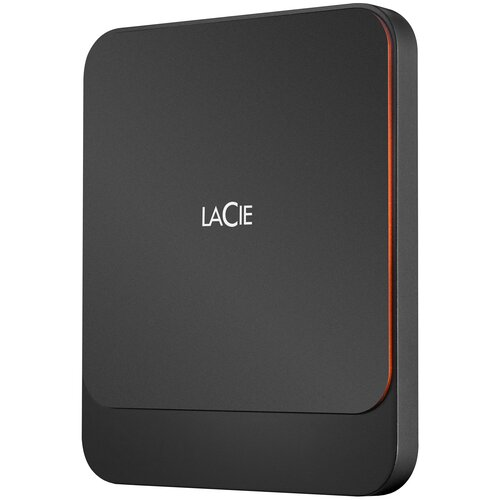 Фото - Внешний SSD Lacie Portable 500 GB, черный внешний ssd seagate expansion stjd 500 gb черный