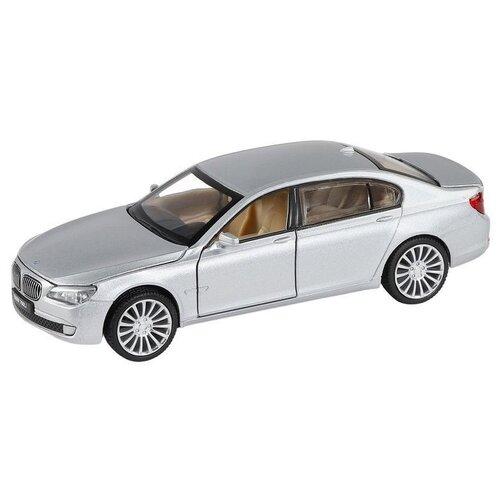 Купить Легковой автомобиль Автопанорама BMW 760LI (JB1251386) 1:34, 15.5 см, серебристый, Машинки и техника