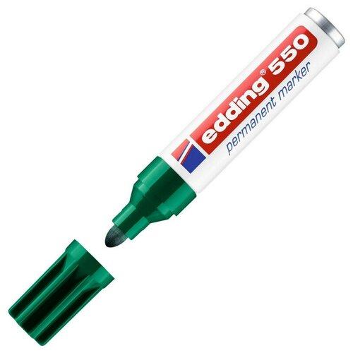 Фото - Маркер перманентный EDDING 550/4 зеленый 3-4 мм круглый наконечник маркер перманентный edding зеленый 3 4 мм круглый наконечник