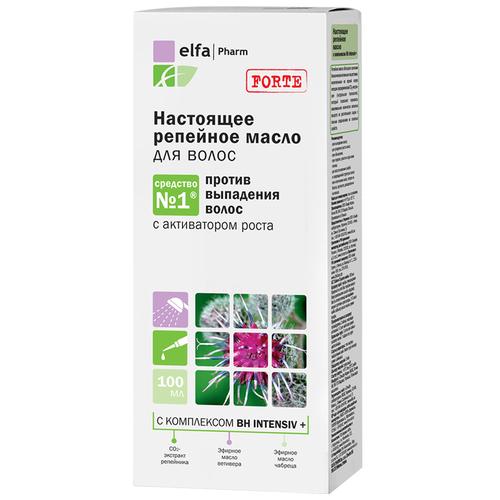 Elfa Pharm Настоящее репейное масло для волос против выпадения, 100 мл