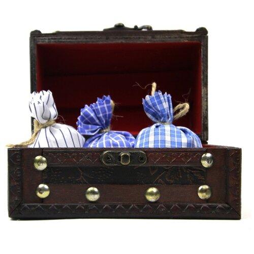 Ароматическое саше Midzumi Прогулка в Провансе, сундук сувенирный, большой