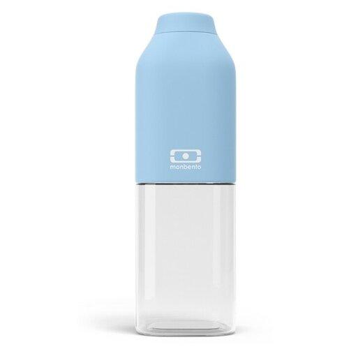Бутылка для воды, для безалкогольных напитков Monbento MB Positive M 0.5 пластик bleu crystal