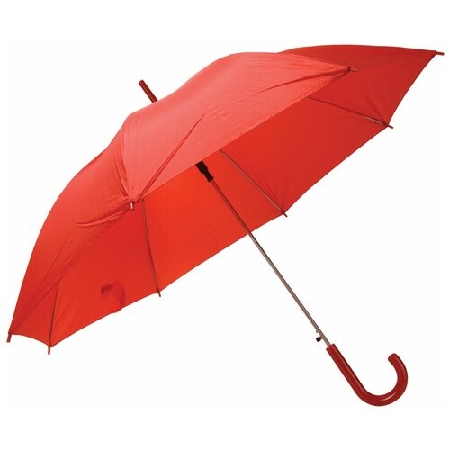 Зонт-трость полуавтомат Unit Promo (1233) красный