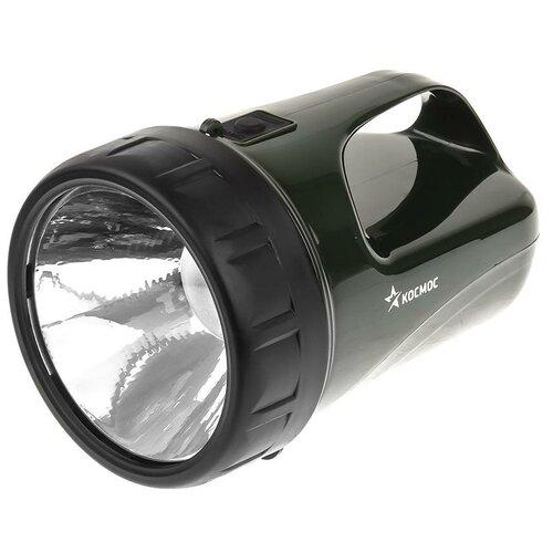Ручной фонарь КОСМОС Accu368 LED черно-зеленый
