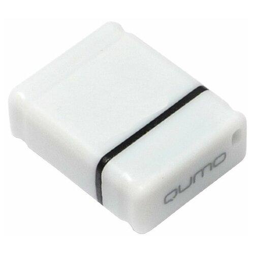 Фото - Флешка Qumo nanoDrive 8 GB, белый флешка qumo click 32gb алый