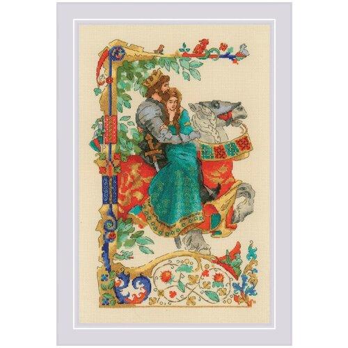 Купить Набор для вышивания крестом RIOLIS / РИОЛИС Баллада о любви 25х40 см 33 цвета (1924), Риолис, Наборы для вышивания