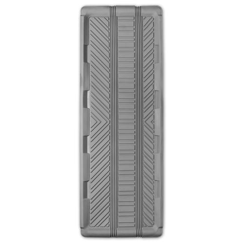 Коврик автомобильный AUTOPROFI TER-150l GY, универсальный, морозостойкий, длинная ванночка заднего ряда, 1 шт., 127 х 45 см, материал термопласт серый