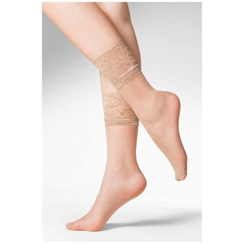 Капроновые носки Gabriella Kala 690, размер One size, beige