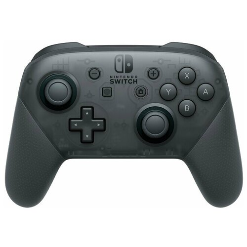 Геймпад Nintendo Switch Pro Controller, черный геймпад nintendo switch pro controller