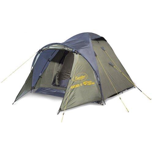 Фото - Палатка CANADIAN CAMPER KARIBU 4 (цвет forest дуги 9,5 мм) палатка canadian camper rino 3 цвет forest