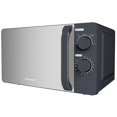 Микроволновая печь Pioneer MW204M 20 л с авторазмораживанием и таймером, 5 уровней мощности, 700 Вт