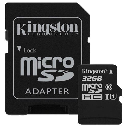 Фото - Карта памяти Kingston Canvas Select microSDHC Class 10 UHS-I U1 32GB + SD adapter (SDCS/32GB) карта памяти micro securedigital 32gb kingston canvas select plus sdhc class 10 uhs i sdcs2 32gb sd адаптер