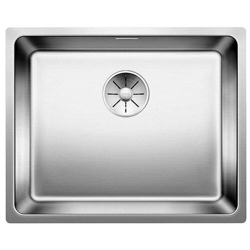 Врезная кухонная мойка 54 см Blanco Andano 500-U InFino нержавеющая сталь зеркальная полировка