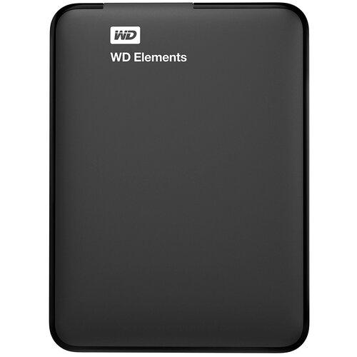 Внешний HDD Western Digital WD Elements Portable (WDBU) 500 GB черный