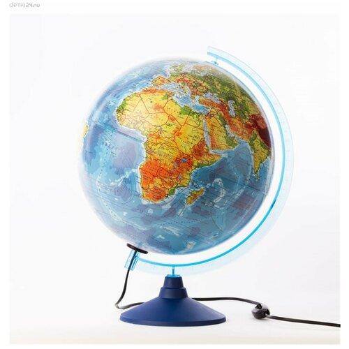 Глобус 32 см физико-политический с подсветкой Классик Евро