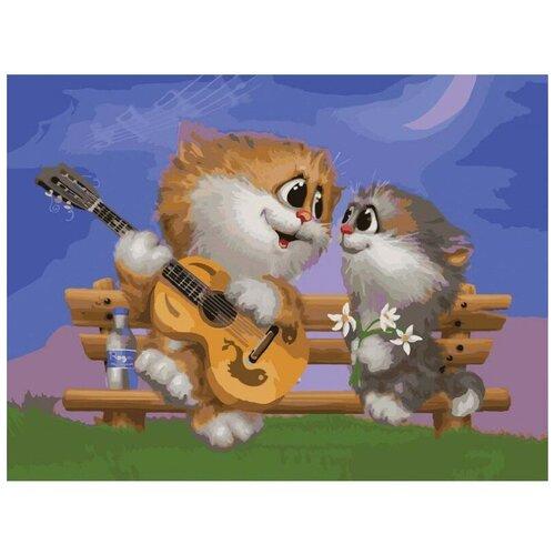 Белоснежка живопись по номерам 30х40 см 743-AS Песни под гитару