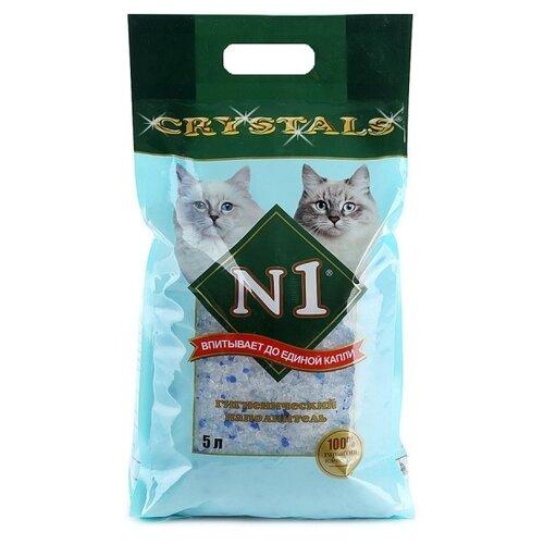 Впитывающий наполнитель N1 Crystals, 5 л