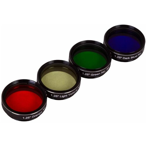 Фото - Набор светофильтров Explore Scientific №4 кейс для светофильтров hakuba kcs 35 yellow