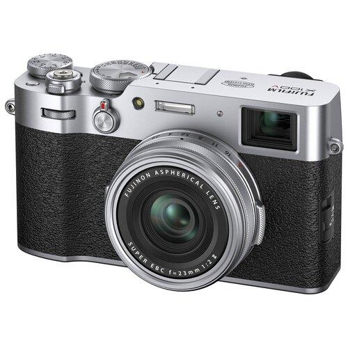 Фото - Фотоаппарат Fujifilm X100V серебристый фотоаппарат