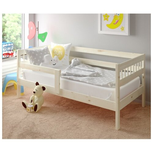 Кровать детская Pituso Hanna, спальное место (ДхШ): 160х80 см, цвет: натуральный лак