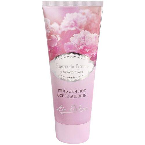 Liv Delano Гель для ног освежающий Fleurs de France Нежность пиона 75 г