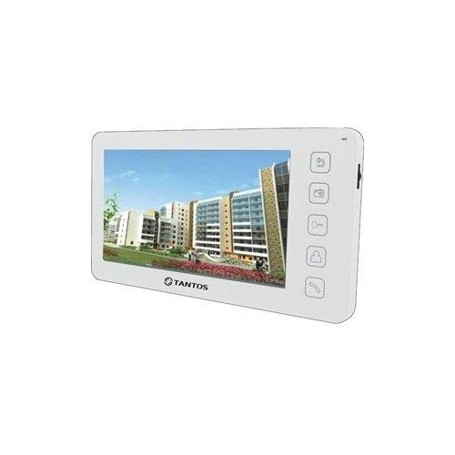 Фото - Домофон (переговорное устройство) TANTOS Prime белый (дверная станция) домофон переговорное устройство tantos lilu sd белый домофон