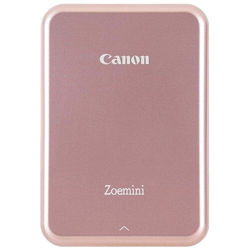 Принтер Canon Zoemini, розовый/золотистый