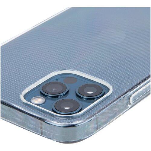 Силиконовый чехол картофан для Apple iPhone 12, iPhone 12 Pro (Эпл Айфон 12, Айфон 12 Про), прозрачный
